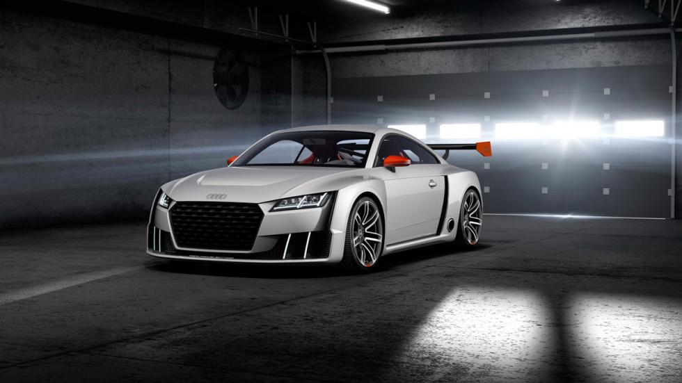 Audi TT Clubsport Turbo frontal