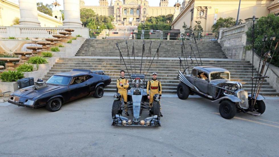 Lotus F1 Mad Max Hybrid y otros coches de mad max