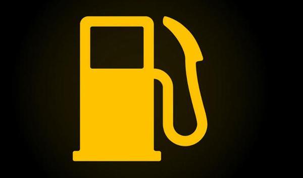 testigo nivel de combustible