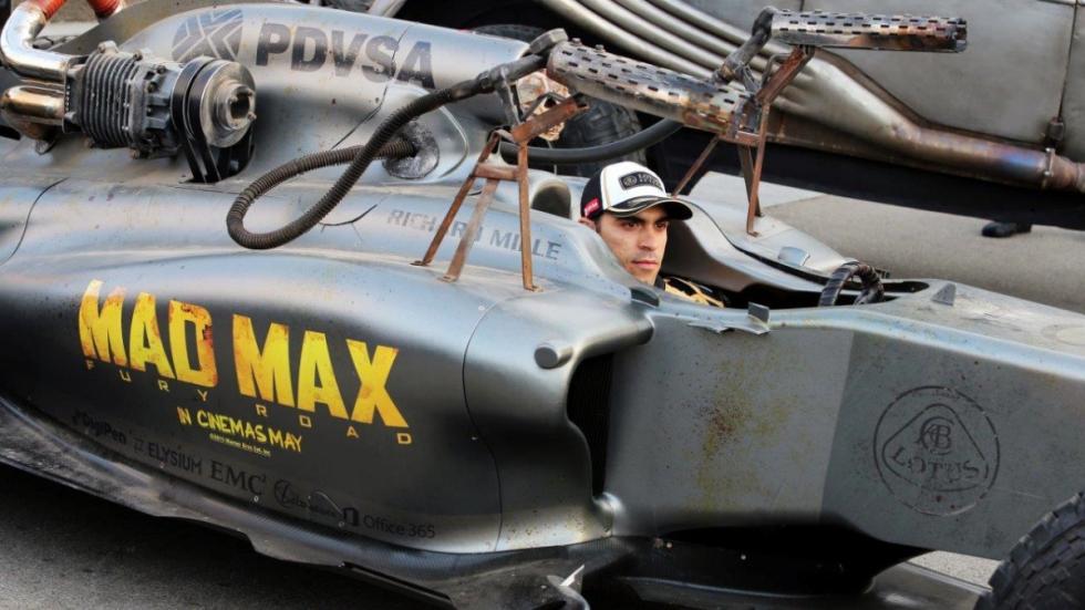 Pastor maldonado Lotus F1 Mad Max