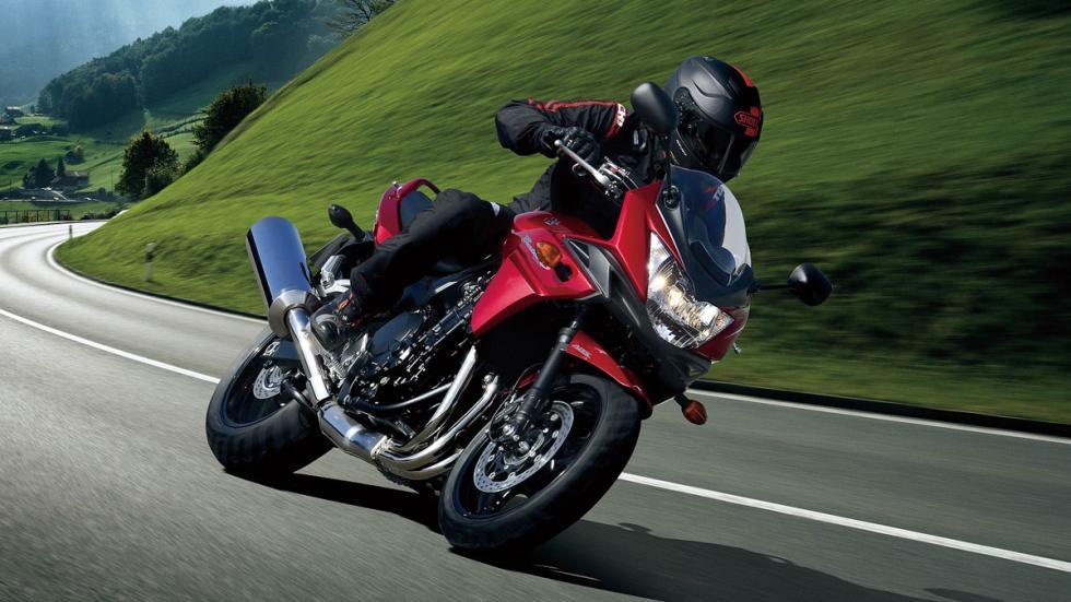 Motor DOHC de 1.255 cc para la nueva Bandit 1250 ABS