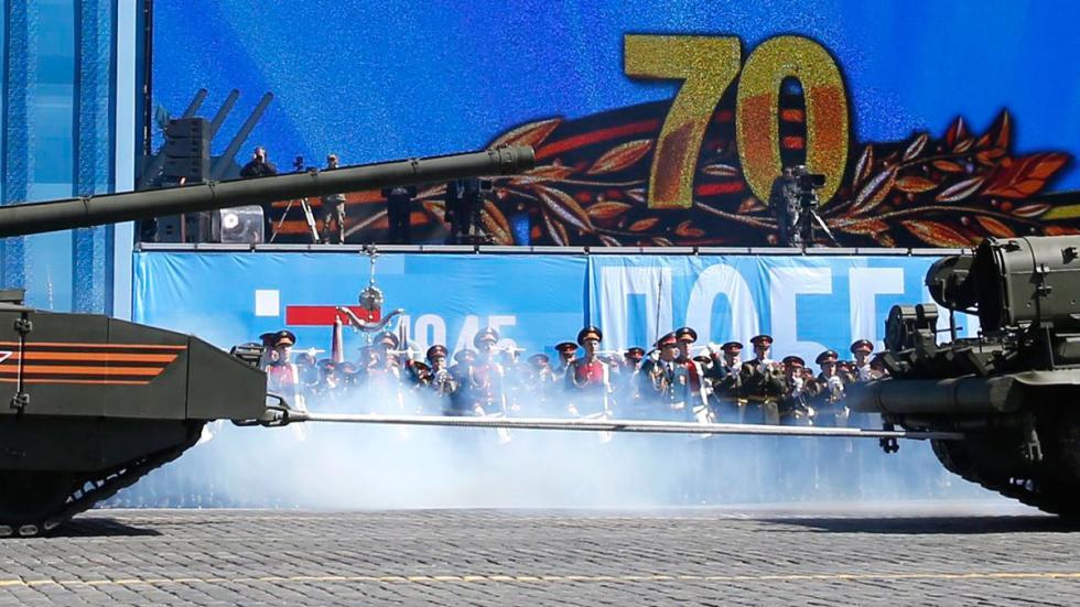 T 14: el supertanque de Putin desfile detalle