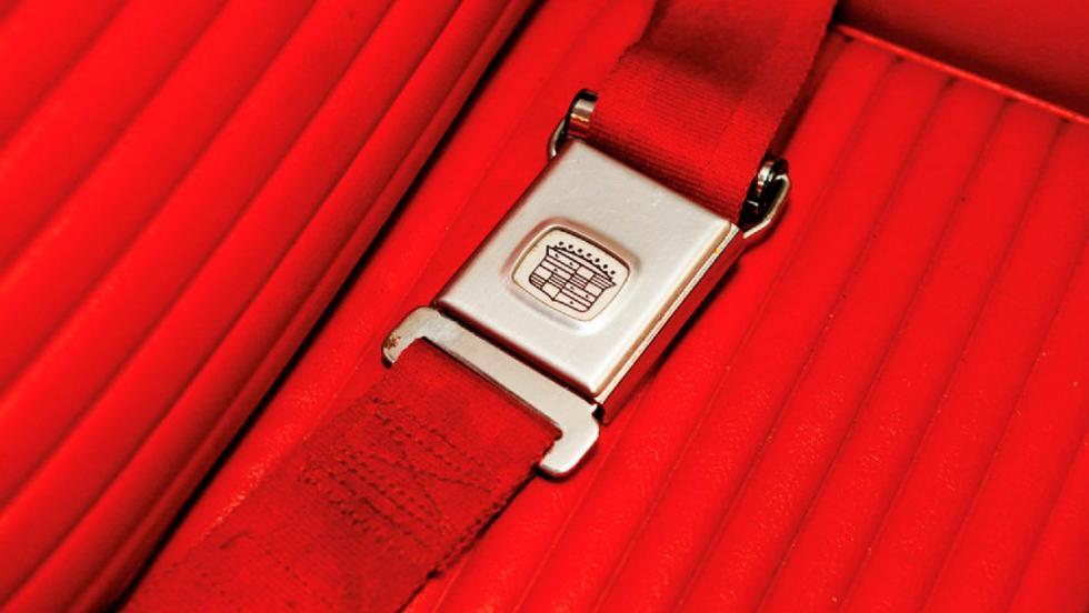 Pontiac Banshee Concept cinturón de seguridad