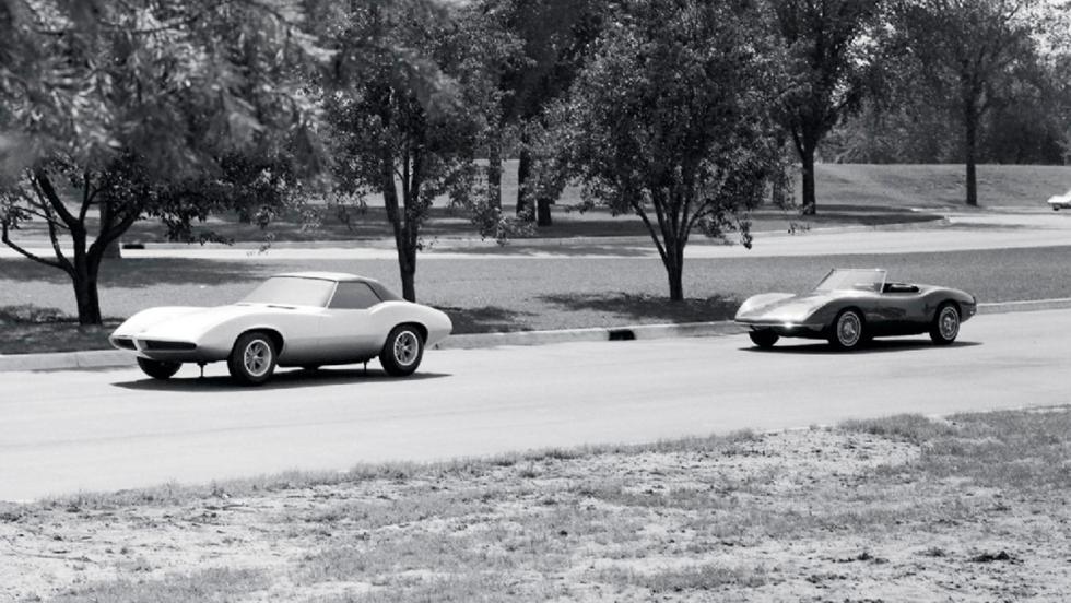 Pontiac Banshee Concept dinamica