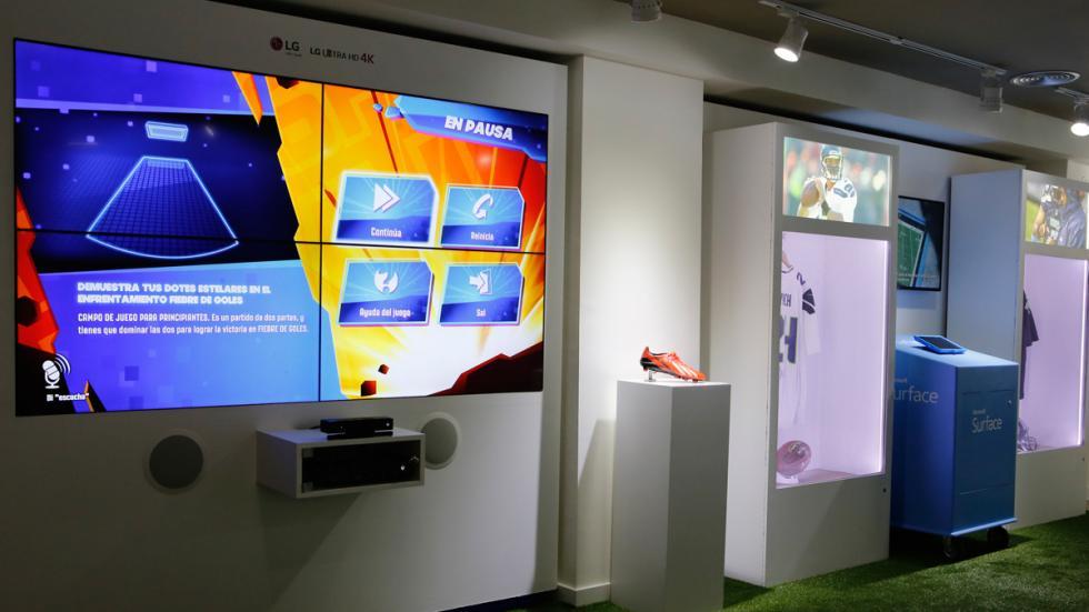 Centro Mundial de Innovación en el Deporte de Microsoft