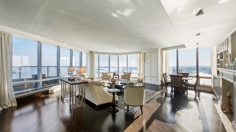 Vistas desde las plantas 39 y 40 del Hotel Ritz-Carlton en Nueva York
