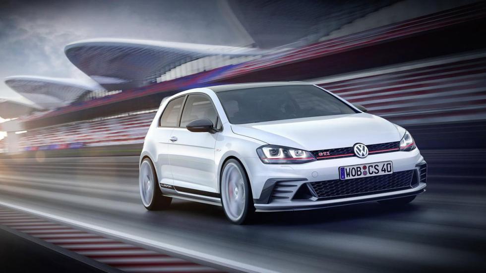 Volkswagen Golf GTI Clubsport tres cuartos delantero