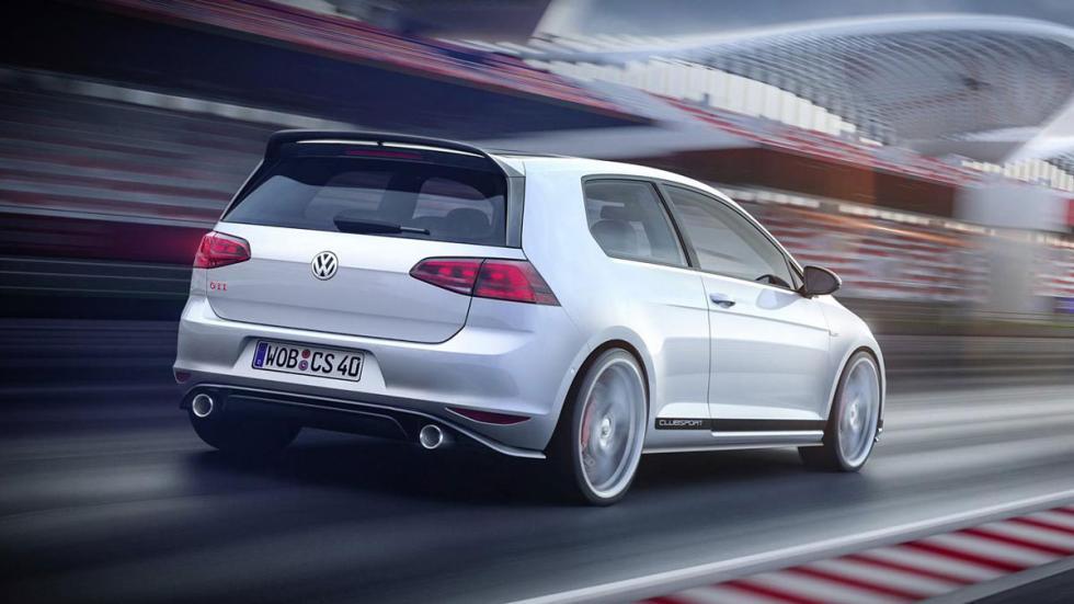 Volkswagen Golf GTI Clubsport tres cuartos trasero
