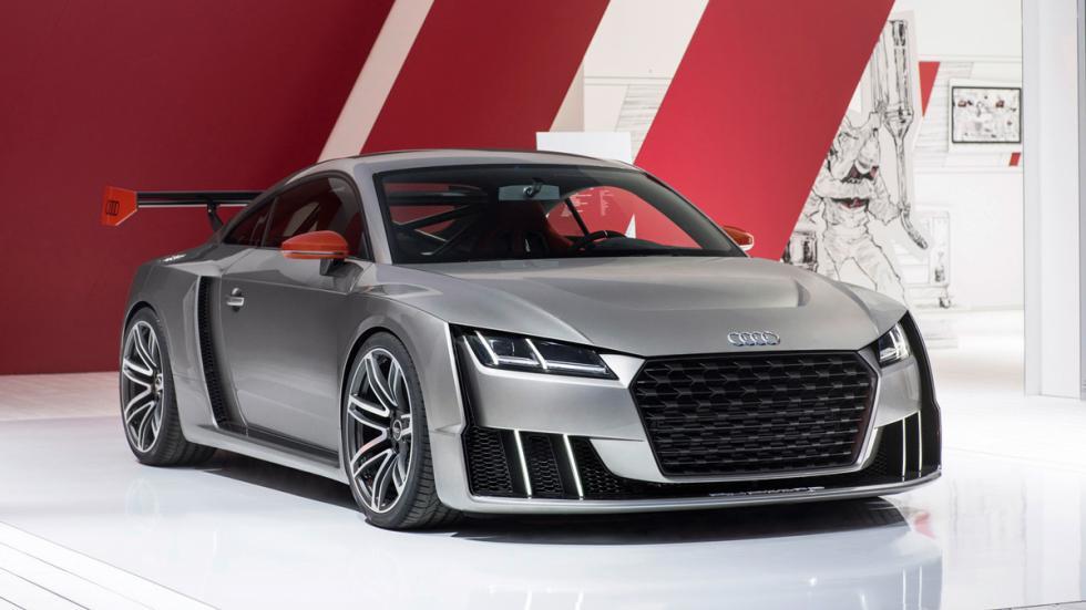 Audi TT Clubsport Turbo presentacion