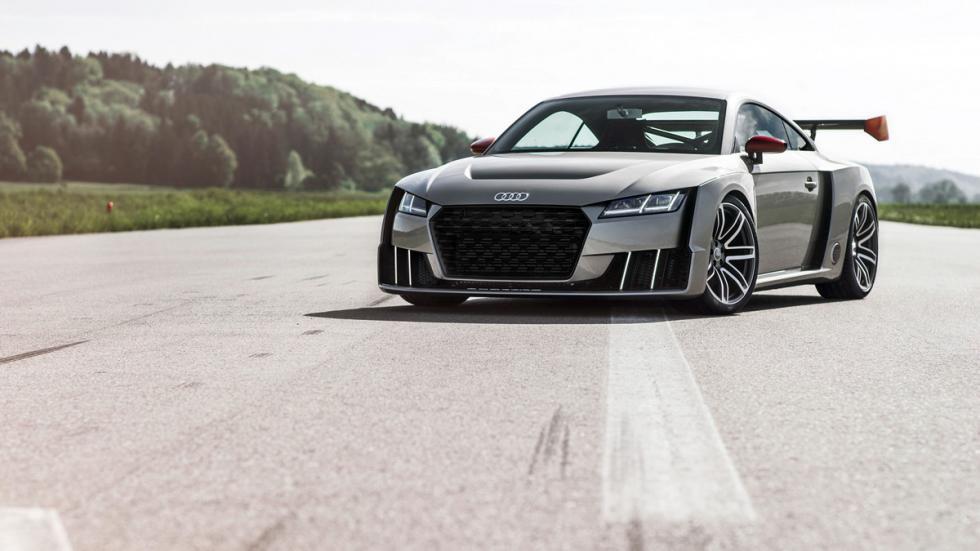 Audi TT Clubsport Turbo tres cuartos delanteros carretera