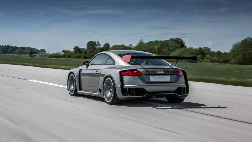 Audi TT Clubsport Turbo dinamica trasera