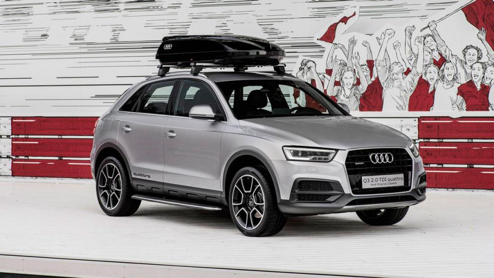 Audi Q3 'offroad package' Wörthersee frontal