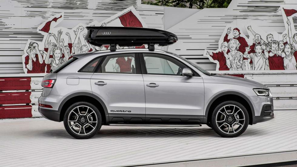 Audi Q3 'offroad package' Wörthersee lateral