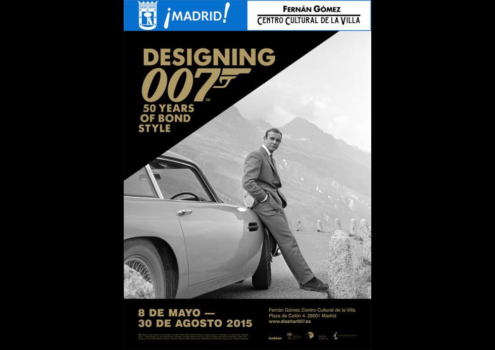 Exposición Diseñando 007 en Madrid