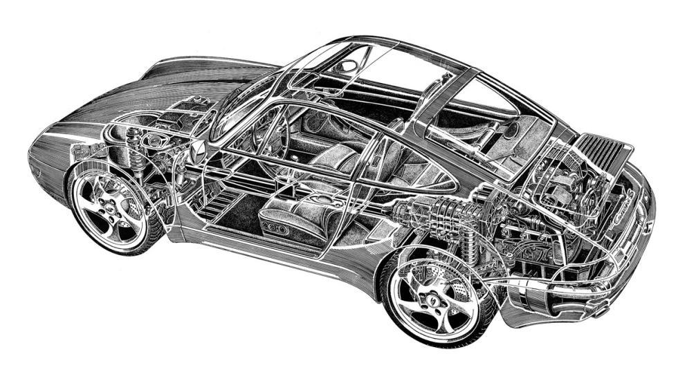 coches-mejor-representan-final-era-porsche-911-993-dibujo