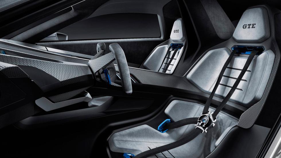 Volkswagen Golf GTE Sport asientos