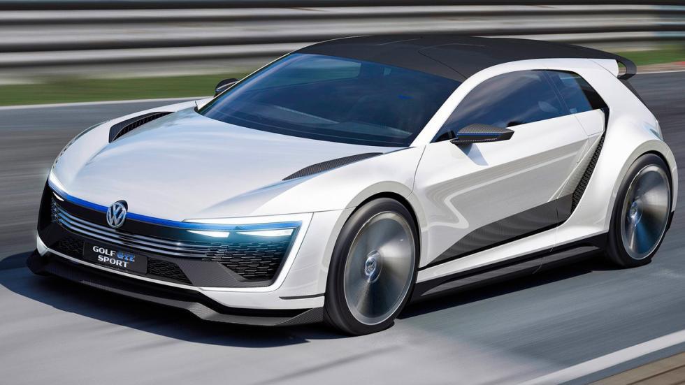 Volkswagen Golf GTE Sport delantera