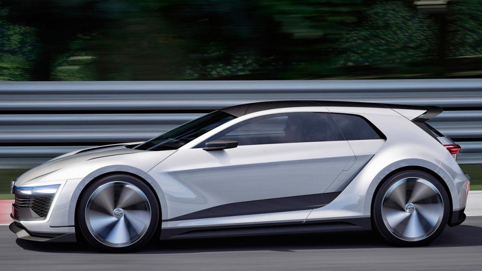 Volkswagen Golf GTE Sport lateral