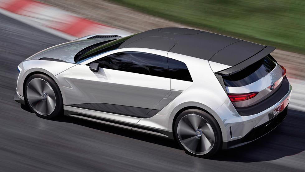 Volkswagen Golf GTE Sport trasera