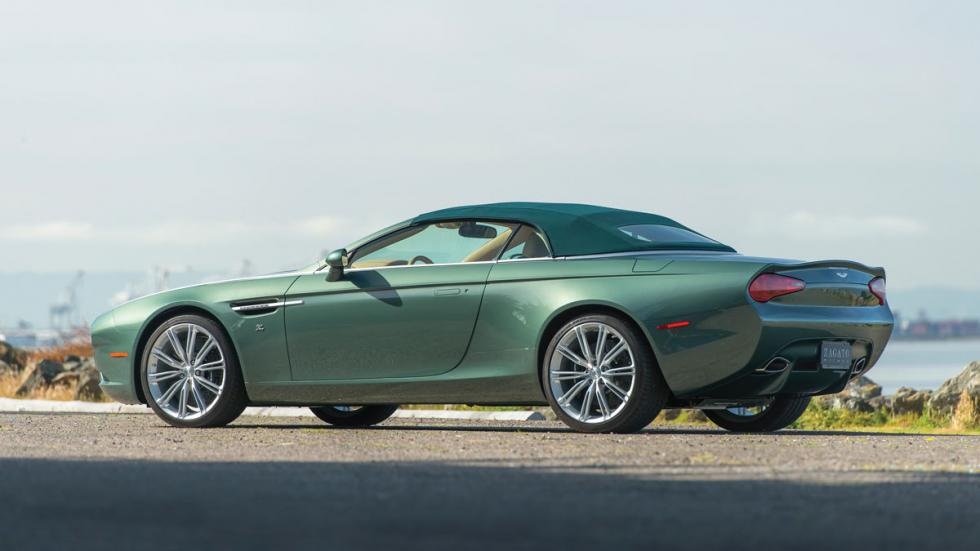 Aston Martin DB9 Spyder Zagato lateral