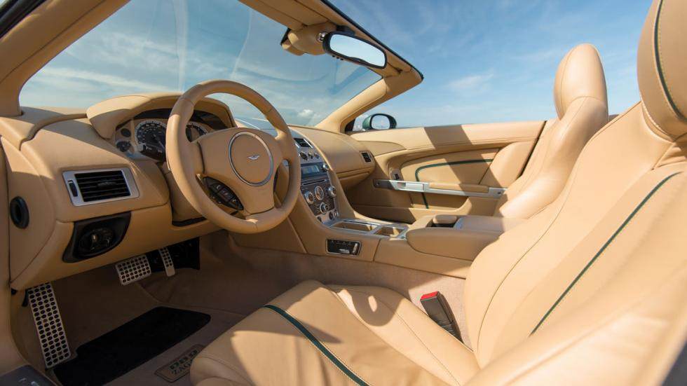 Aston Martin DB9 Spyder Zagato interior