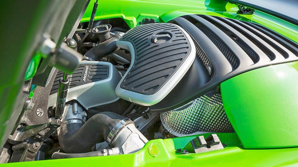 McLaren 650S Spider detalle motor