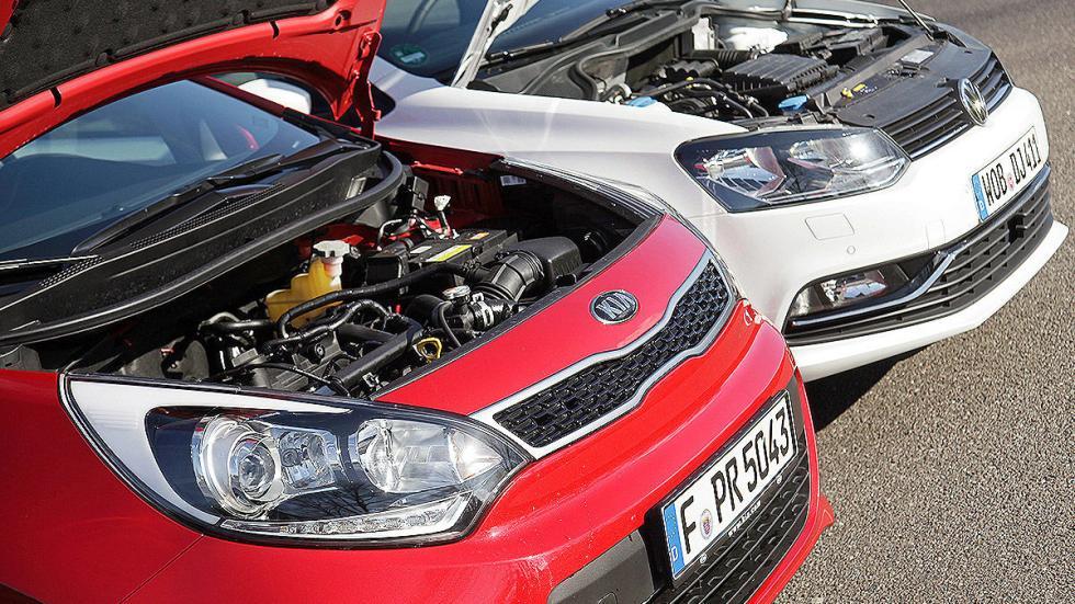 Kia Rio contra Volkswagen Polo motores