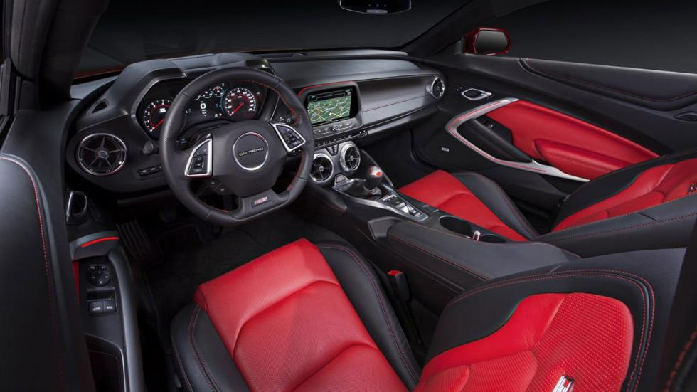 Chevrolet Camaro 2016 interior