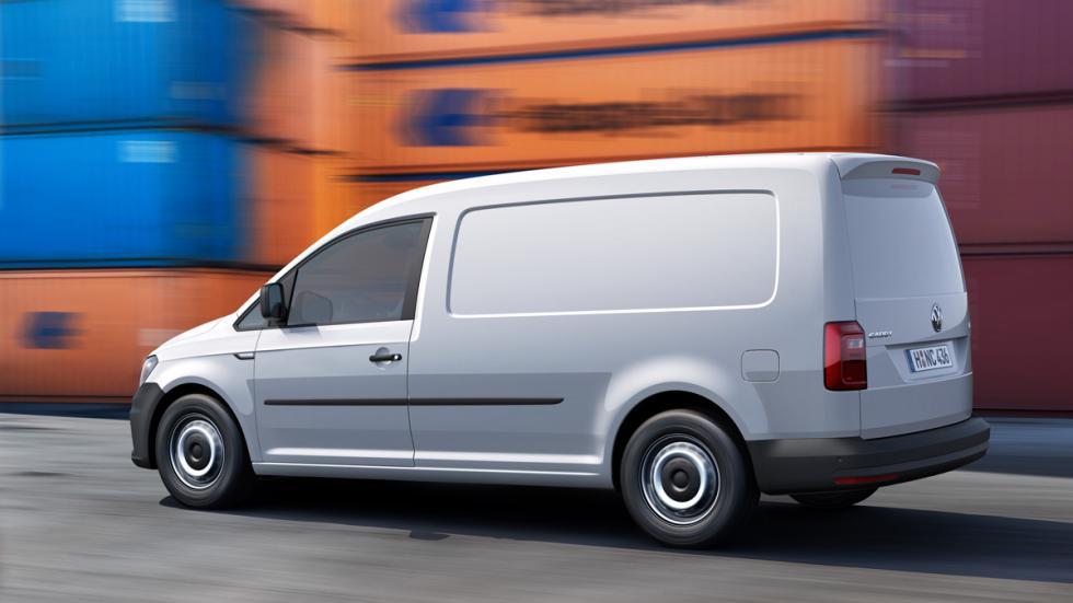 Volkswagen Caddy BiFuel trasera