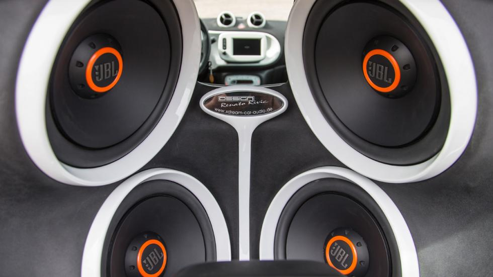 smart fortwo forgigs altavoces