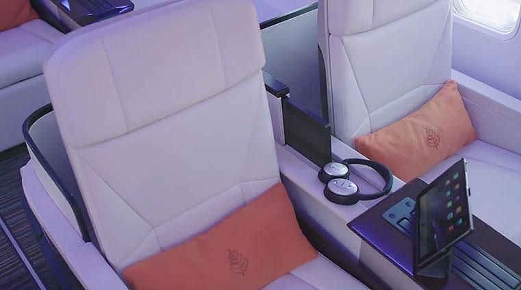 En el avión cada pasajero dispone de unos auriculares Bose