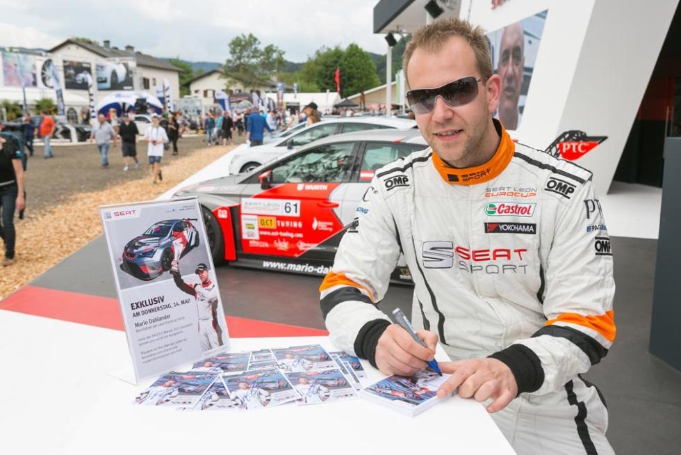 Los pilotos y coches de competición del Wörthersee 2015