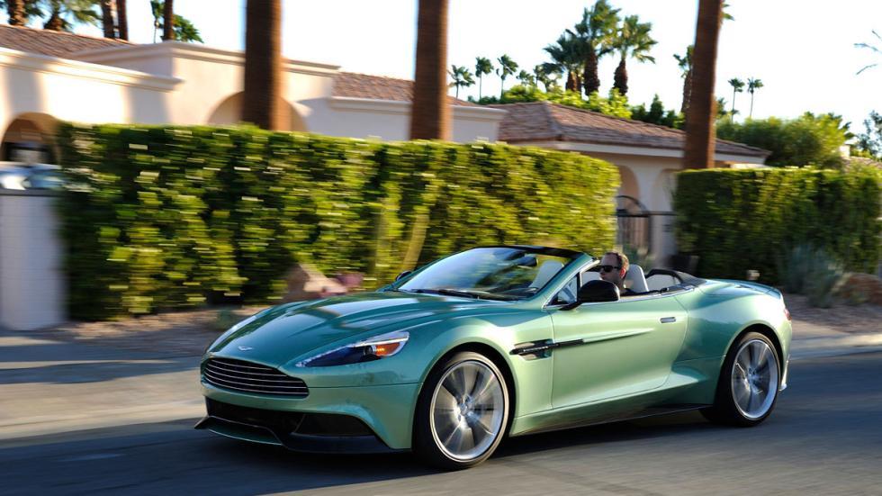 Aston Martin Vanquish Volante. 576 CV