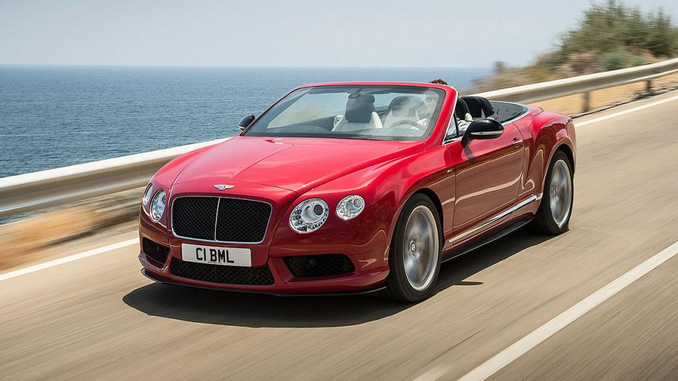 Bentley Continental GT V8 Convertible. 507 CV