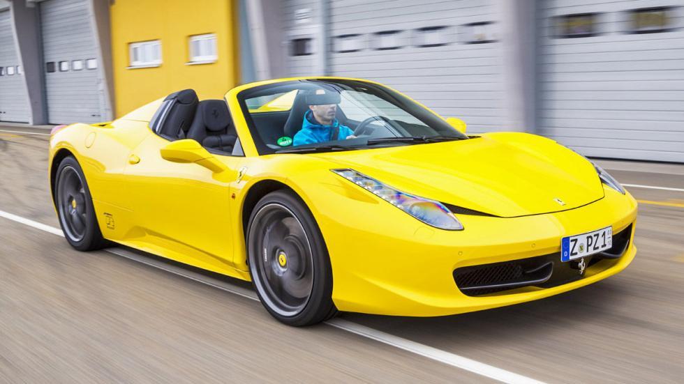 Ferrari 458 Spider. 570-605 CV. Desde 257.899 €