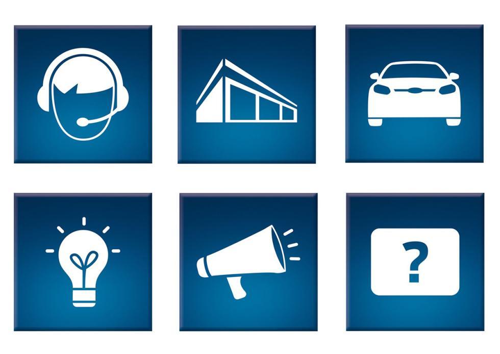 Servicios de postventa en Ford Service App