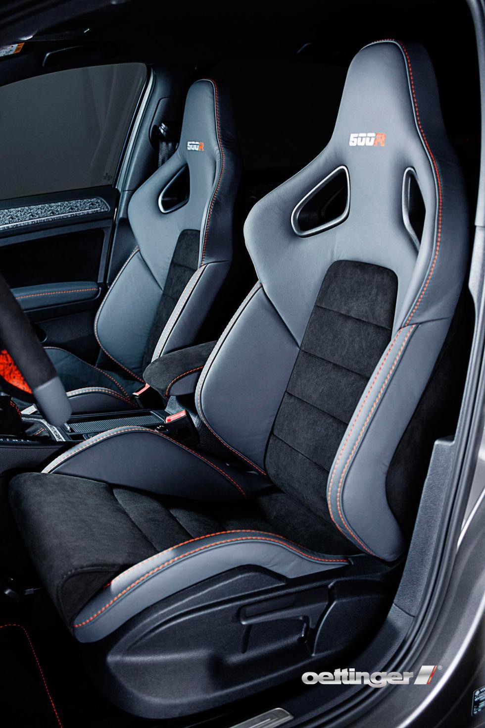 Volkswagen Golf R500 Oettinger asientos