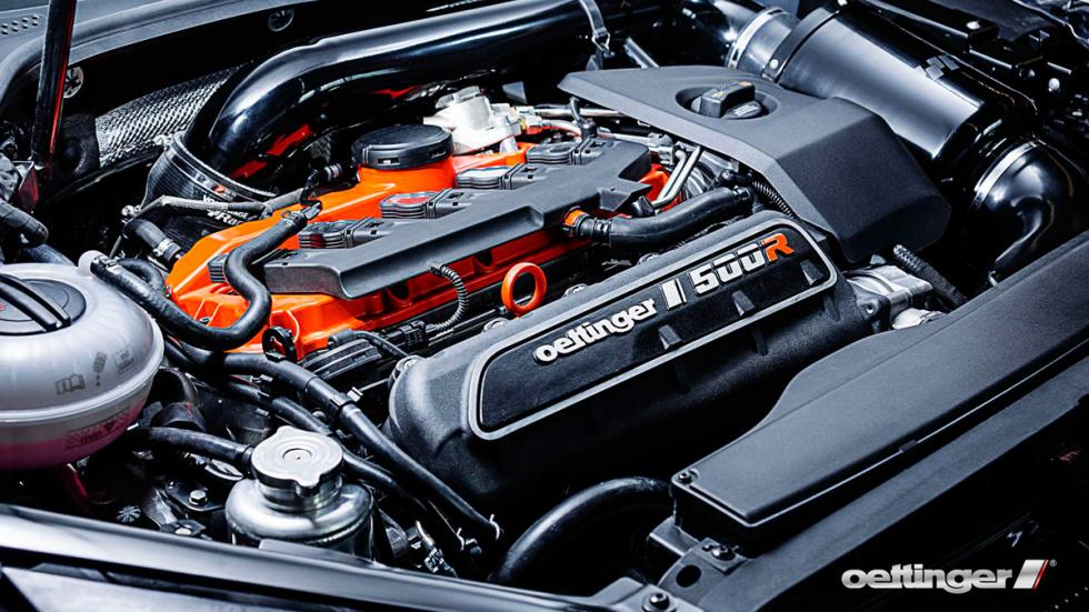 Volkswagen Golf R500 Oettinger motor