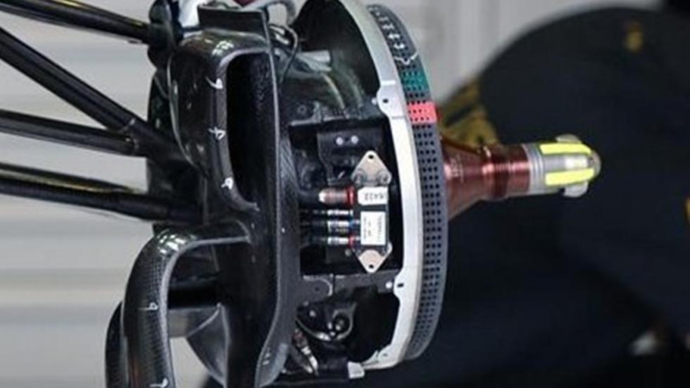Los frenos de la Fórmula 1