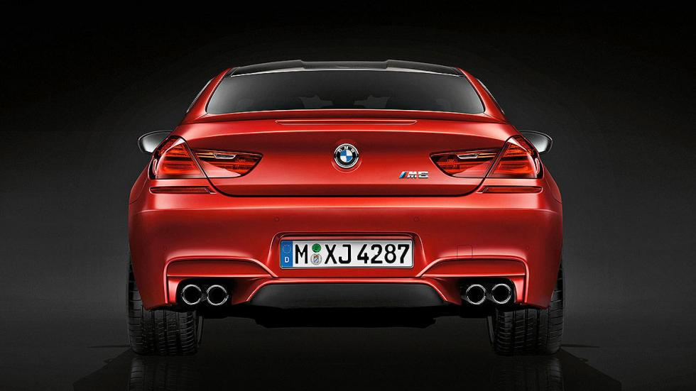 BMW M6 Competition Pack 2016 trasera
