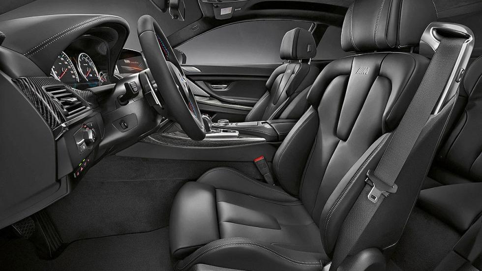 BMW M6 Competition Pack 2016 interior