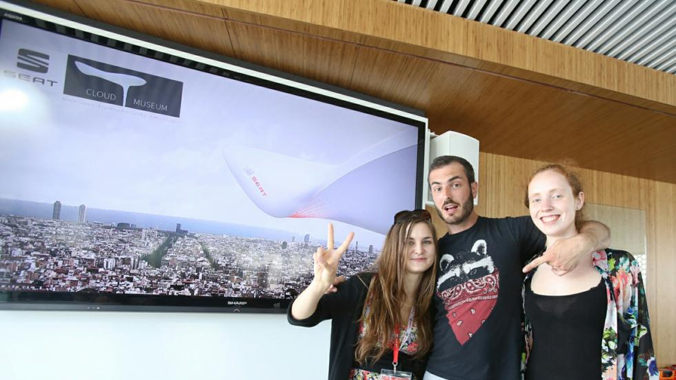 Anton Sahler, Ksymena Borczynska y Patricia Loges ganadores museo digital