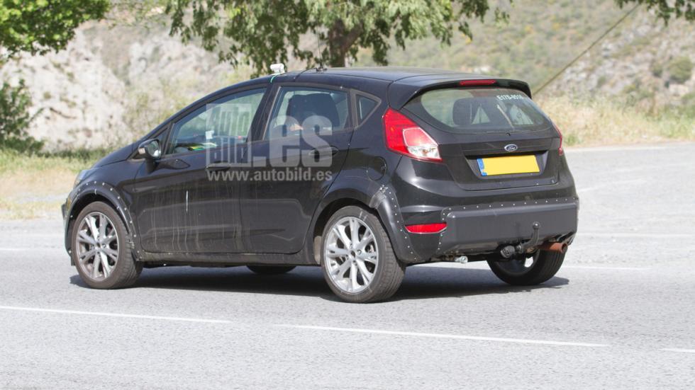Mula nuevo Ford Fiesta lateral