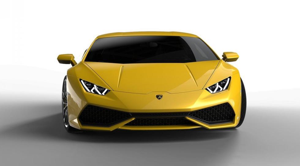 Lamborghini Huracán delantera