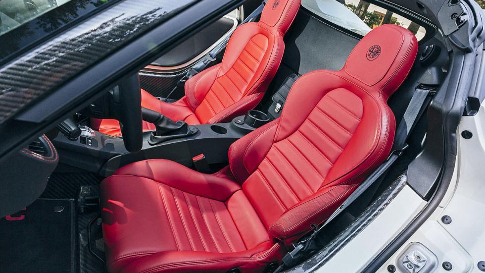 Prueba: Alfa Romeo 4C Spider asientos