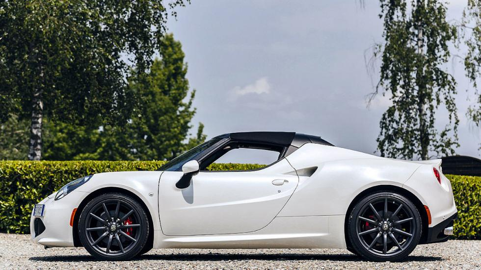 Prueba: Alfa Romeo 4C Spider lateral