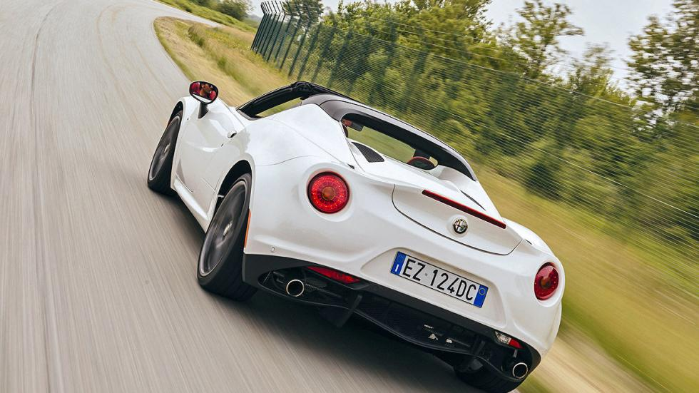 Prueba: Alfa Romeo 4C Spider detalle zaga