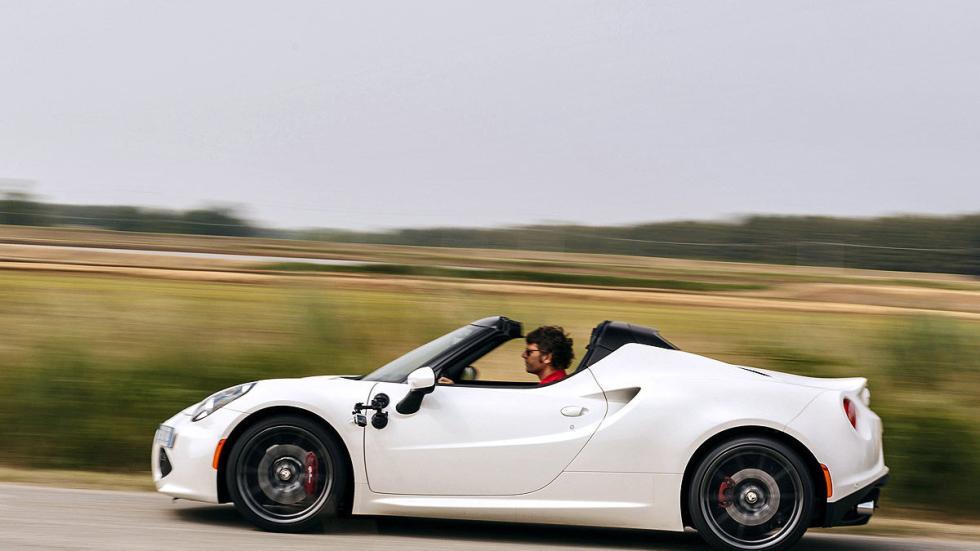 Prueba: Alfa Romeo 4C Spider detalle lateral