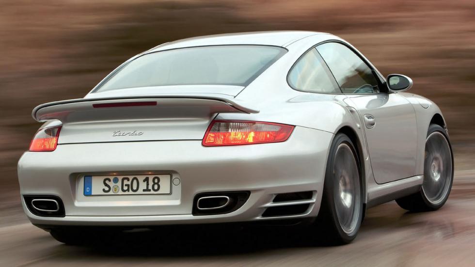 Porsche 911 Turbo 997 trasera
