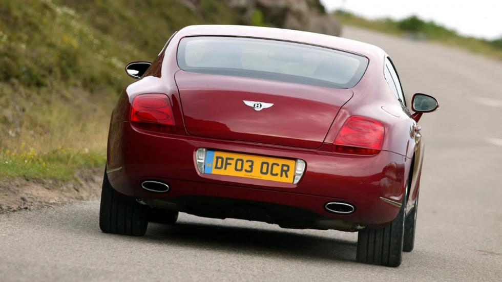 Bentley Continental GT trasera